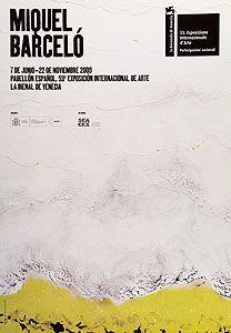 Manifesti Barcelo - Pabellon Espanol, Biennale di Venezia