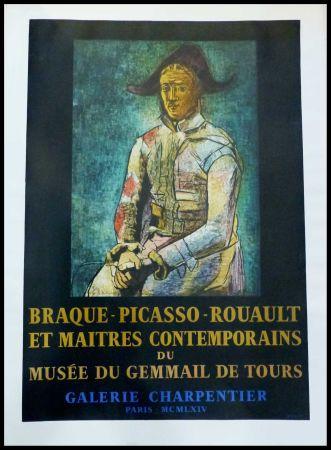 Manifesti Picasso - PABLO PICASSO, MUSÉE DU GEMMAIL À TOURS GALERIE CHARPENTIER