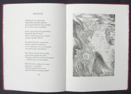 Libro Illustrato Sassu - Page blanche beau desert