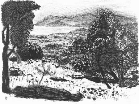 Litografia Bonnard - Paisage du midi