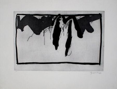 Acquaforte E Acquatinta Hernandez Pijuan - Paisatge Amb Xiprers Ii / Landscape With Cypresses Ii