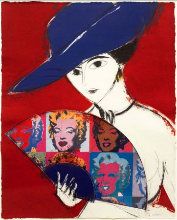 Incisione Valdés - Pamela I (Warhol)