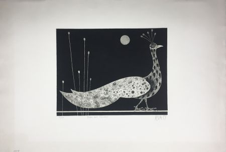 Maniera Nera Avati - PAON AUX ROSEAUX (1958)