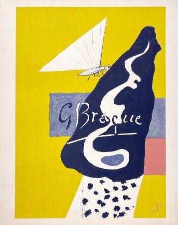 Litografia Braque - Papillon