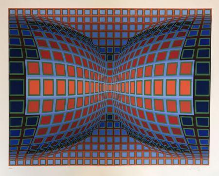 Serigrafia Vasarely - Papillon