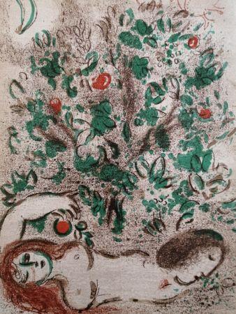 Litografia Chagall - Paradis