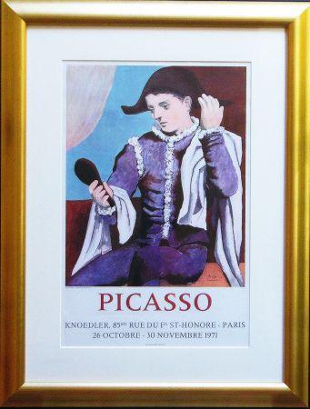 Litografia Picasso - Paris, Galerie Knoedler Signed
