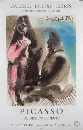 Offset Picasso - Paris Galerie Louise Leiris  Dessins Recents