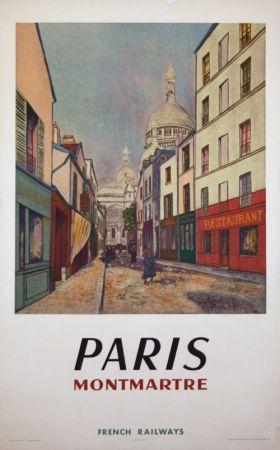 Offset Utrillo - Paris Montmartre
