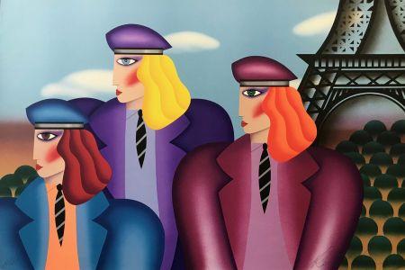 Litografia Morris - PARIS RAGE