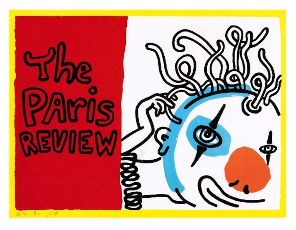 Serigrafia Haring - Paris Review