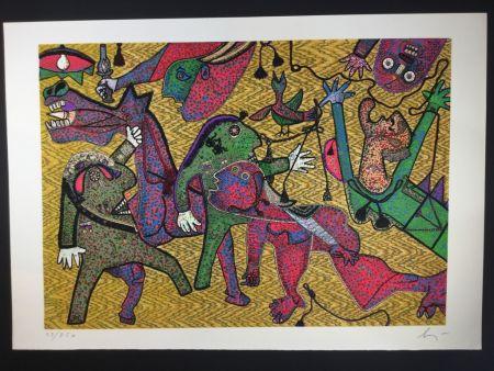 Multiplo Baj - Particolare di Guernica