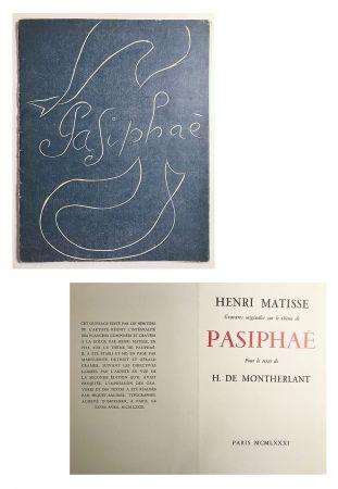 Libro Illustrato Matisse - Pasiphae - Livret de présentation en reproduction