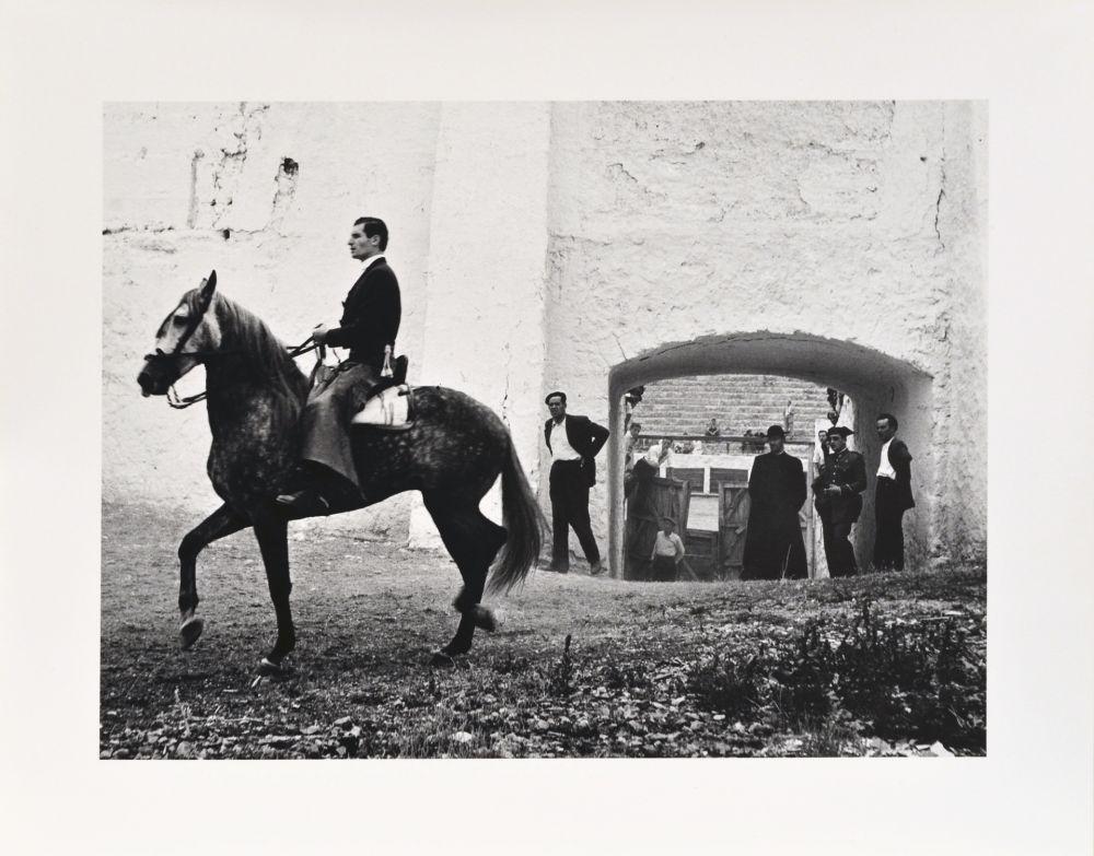 Fotografie Català-Roca - Pati de cavalls, 1957