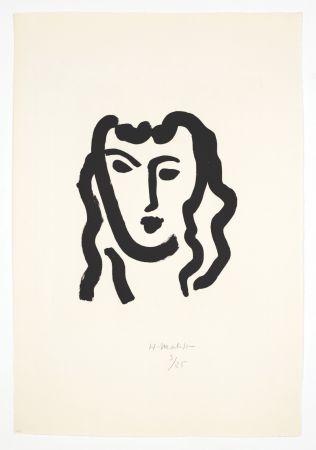 Acquatinta Matisse - Patitcha. Masque