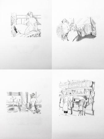 Libro Illustrato Laboureur - Paul-Jean Toulet: LES CONTRERIMES.