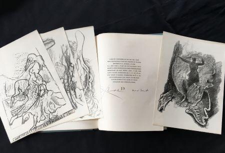 Libro Illustrato Ernst - Paul Éluard : CHANSON COMPLÈTE. Lithographies de Max Ernst (1939)