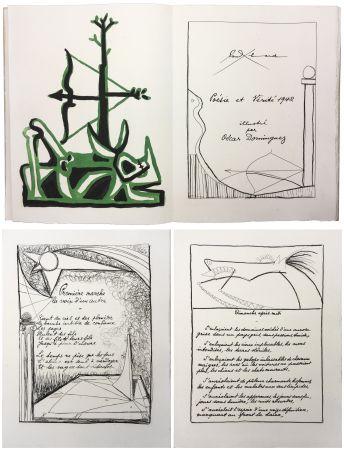 Libro Illustrato Dominguez - Paul Éluard : POÉSIE ET VÉRITÉ 1942. 31 gravures originales (1947).