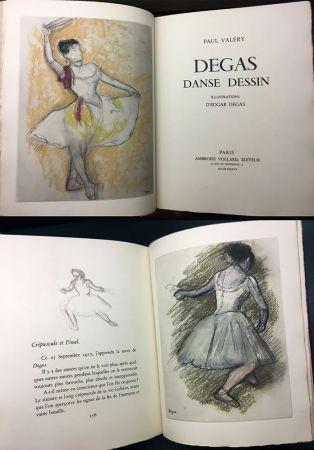 Libro Illustrato Degas - Paul Valéry : DEGAS DANSE DESSIN (Vollard, Paris 1936).