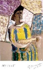 Litografia Braque - PAULHAN (Jean). Braque le patron.