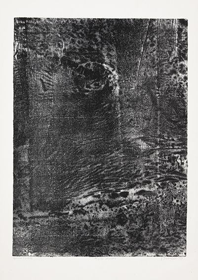 Litografia Dubuffet - Paysage japonais