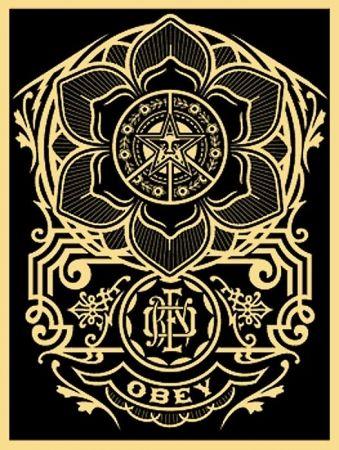 Serigrafia Fairey - Peace Ornament