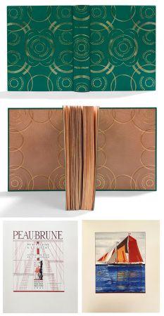 Libro Illustrato Schmied - PEAU-BRUNE. De St-Nazaire à La Ciotat. Journal de bord de F.-L. Schmied. Dans une reliure décorée de Semet et Plumelle.