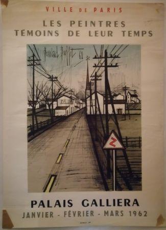 Manifesti Buffet - Peintres témoins de leur temps - 1962