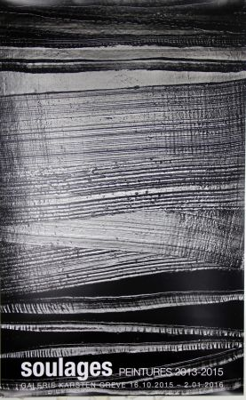 Offset Soulages - Peintures