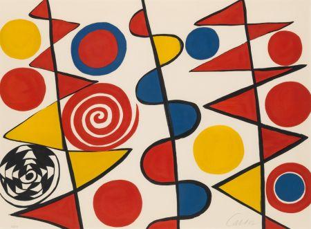 Litografia Calder - Pennants