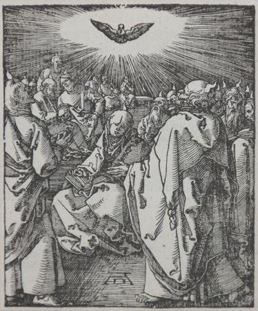 Incisione Su Legno Durer - Pentecost (The Small Passion), 1612