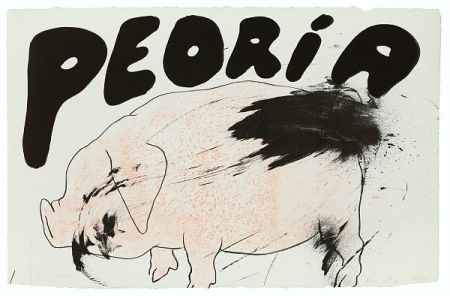 Litografia Dine - Peoria