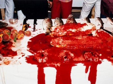 Fotografie Nitsch - Performance 2003