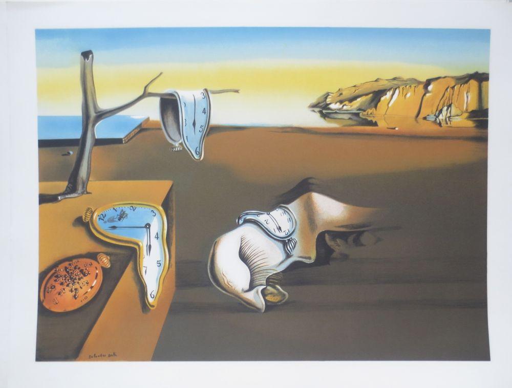Litografia Dali - Persistance de la mémoire