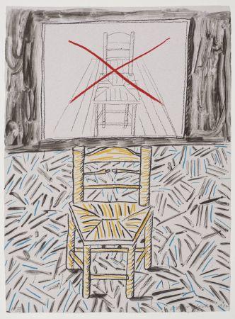 Litografia Hockney - Perspective Lesson