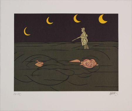 Litografia Adami - Petit clair de lune