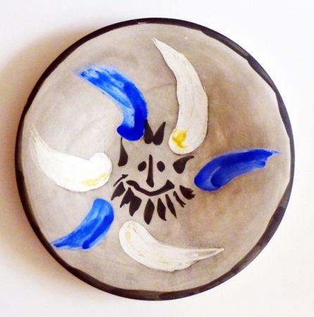 Ceramica Picasso - Petit visage 12