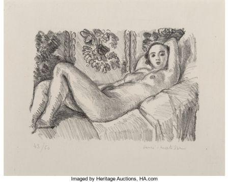 Litografia Matisse - Petite Aurore