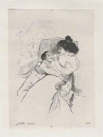 Incisione Legrand - Petite mère
