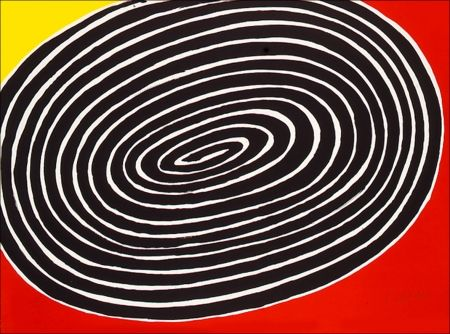 Litografia Calder - Petite Spirale