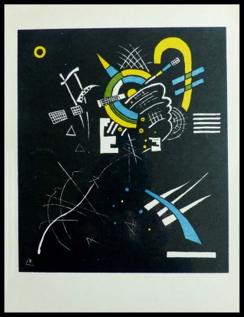 Litografia Kandinsky - PETITS MONDES