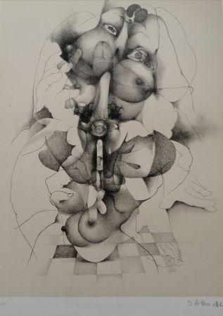 Litografia Daboval - Phantasmes de Berthe 3