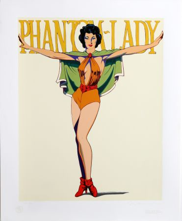Serigrafia Ramos - Phantom Lady (White)