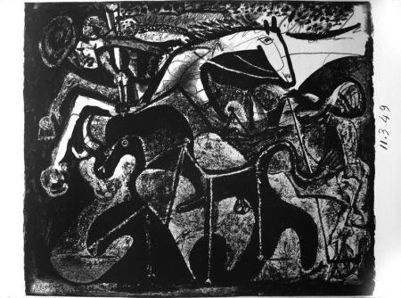 Litografia Picasso - Picador