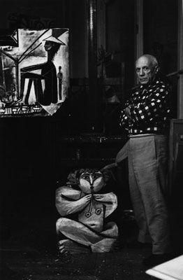 Fotografie Clergue - Picasso