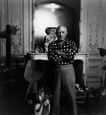 Fotografie Clergue - Picasso Au Miroir