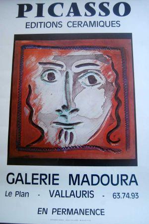 Manifesti Picasso - Picasso Editions Ceramiques. Galerie Madoura