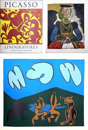 Libro Illustrato Picasso - PICASSO LINOGRAVURES. (Picasso Linocuts). 1962.