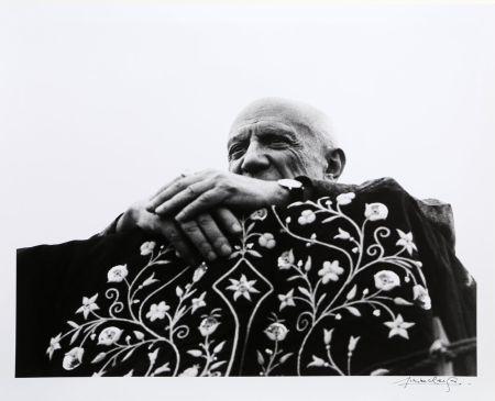 Fotografie Clergue - Picasso Preside la Corrida - Frejus, 1962