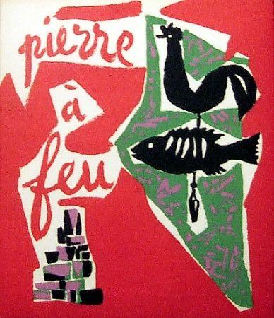 Libro Illustrato Marchand - Pierre à feu. Provence noire